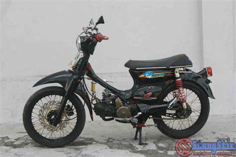 Karet Ganjal Stang Honda C70 Pitung honda astrea prima 1989 konsepnya pitung kekinian stangstir