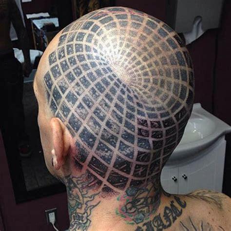selection de  tatouages avec des illusions doptique inkage