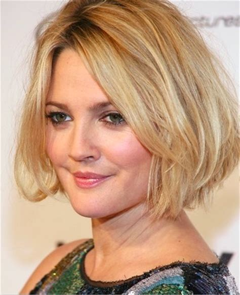 bob hairstyles drew barrymore 20 star studded celebrity bobs hairstyle ideas for medium