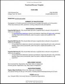 View Sample Functional Resume   Latest Resume Format