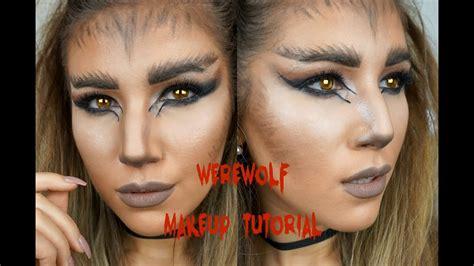 chrisspy werewolf tutorial halloween werewolf makeup tutorial giveaway mona s