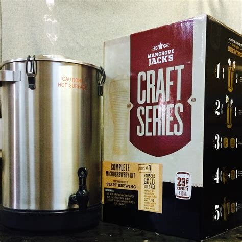 complete micro brewery kit mangrove jacks home brewing