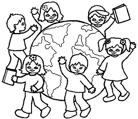 Coloring Pages Childrens Rights L L L