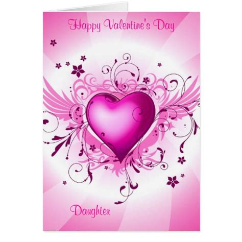 happy valentines day to my daughters happy s day greeting cards zazzle