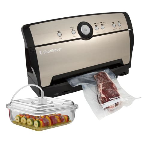 Sealer Penutup Bungkus Snack Size L foodsaver vacuum system with marinator food saver sealers cayne s housewares