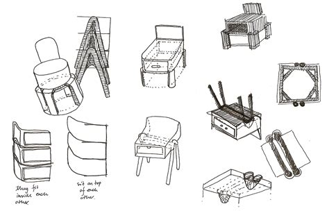 Processing 3 Sketches by Design Process Sketches By Gil Ulldemolins At