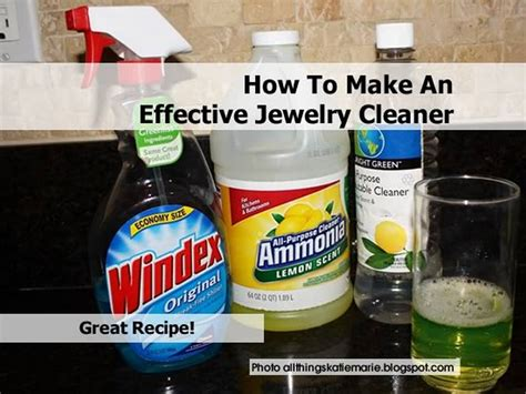 make jewelry cleaner how to make an effective jewelry cleaner