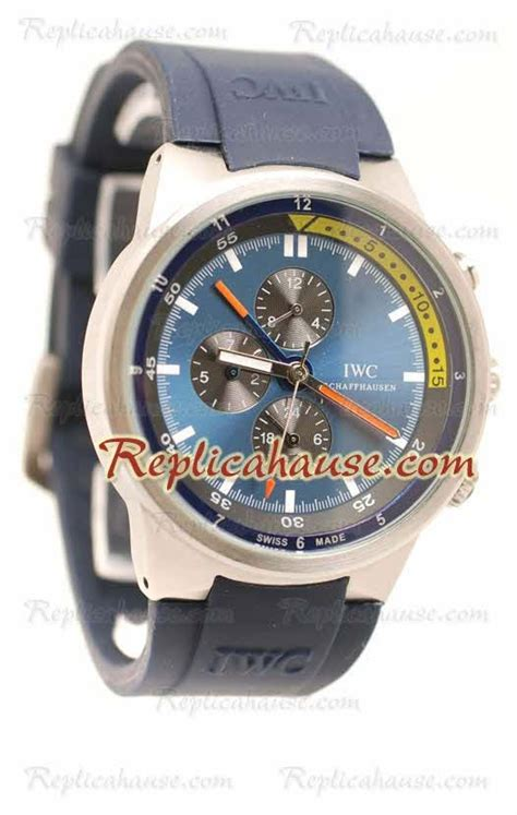 Iwc Schaffhausen Aquatimer Chronograph Swiss Clone 1 1 Whate iwc aquatimer chronograph wristwatch iwc23 at a discounted price at just 199