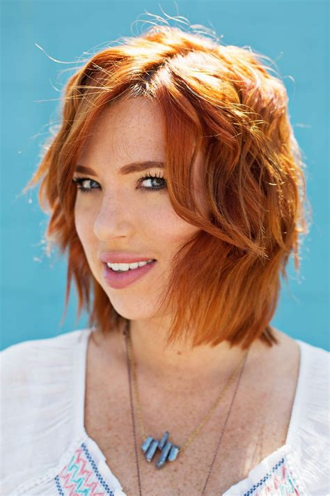 popular hairstyles for gingers how to create beachy waves with a flat iron a