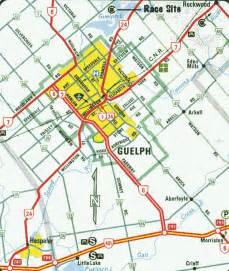 maps guelph ontario canada guelph map and guelph satellite image