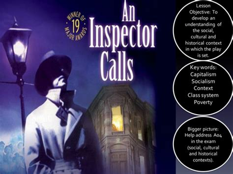 an inspector calls aqa 129219541x aqa gcse english literature an inspector calls social and historical context full ofsted plan by