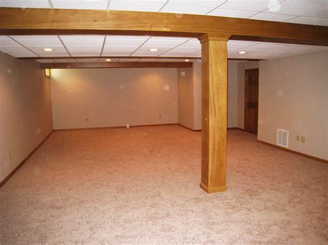 drop ceiling basement modern