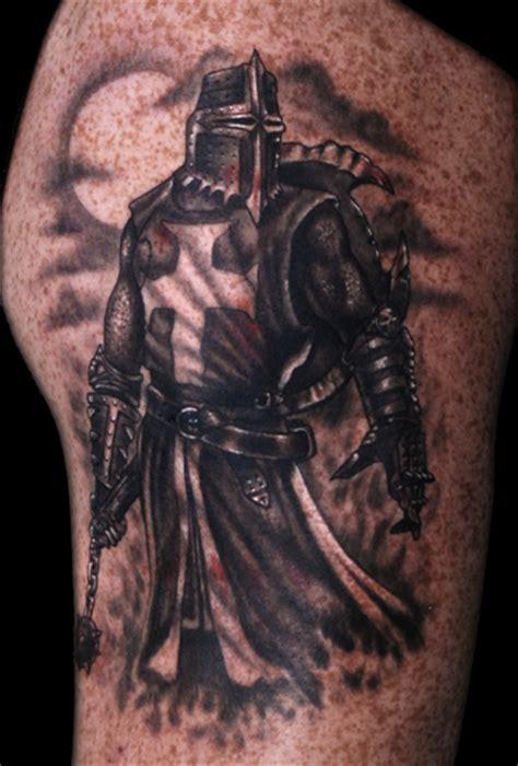 christian knight tattoo heaven light templar knights tattoos