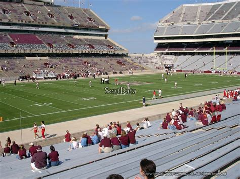 kyle field section map kyle field football seating sections rateyourseats com
