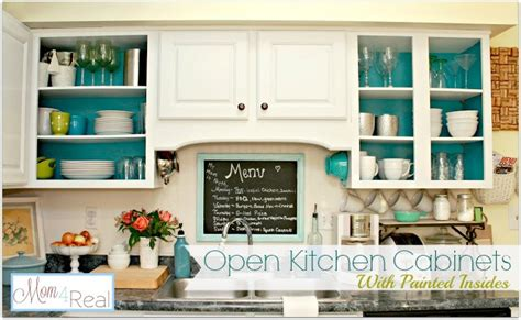 open kitchen cabinet open cabinets with white aqua lime green silver