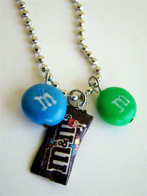 diy best friend necklaces m s necklace handmade mm s inspired bracelet diy polymer clay food candies miniature
