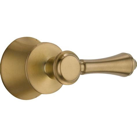 bathtub lever delta leland lever handle for tub and shower faucets in