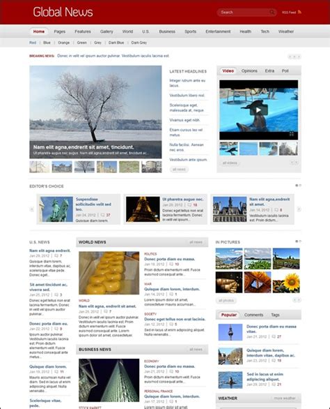 news section website design news section website design 28 images news section
