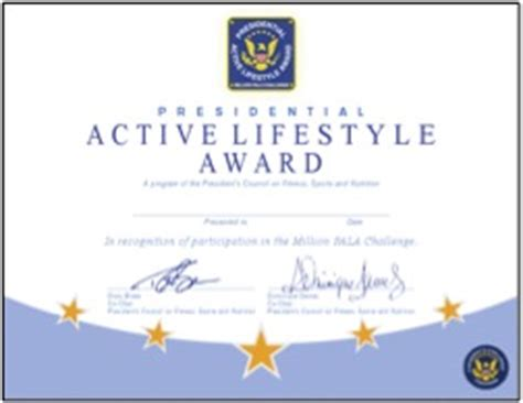 loser certificate template presidents challenge fitness is newsletter