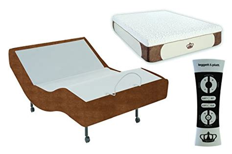 dynastymattress 12 inch coolbreeze gel memory foam mattress with s cape adjustable beds set