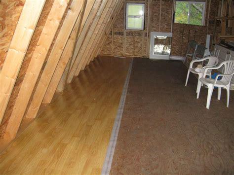 put laminate flooring on the wall