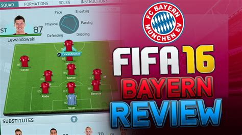 best for motion fifa 16 bayern munich tutorial best formation best