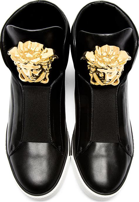 versace medusa sneakers we kendall jenner s hi top sneakers do you shoes
