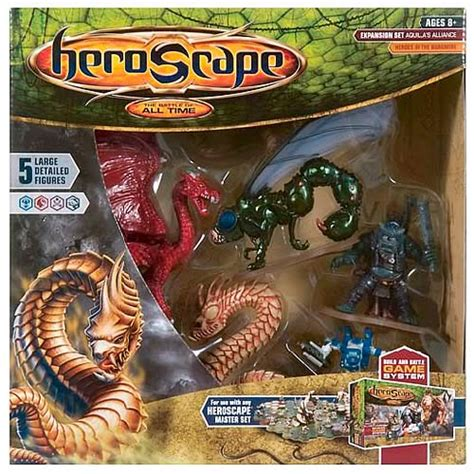 Set Aquilla heroscape aquilla s alliance large expansion wizards of