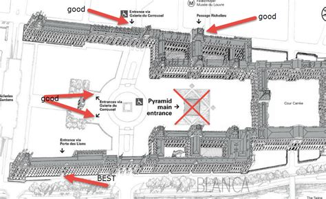Louvre Floor Plan by Tips For Visiting The Louvre To Save Time And Money