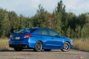 Cars Like Subaru Wrx 2016 Subaru Wrx Sti Review Car News Auto123
