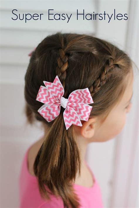 easy hair styles  girls  toddlers  school