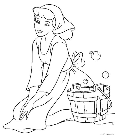 coloring book pdf disney princess free disney cinderella for kids6244 coloring
