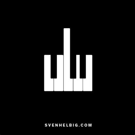Would Be A Piano Sign For And Detox by Svenhelbig Logotype Graphics Design Logos