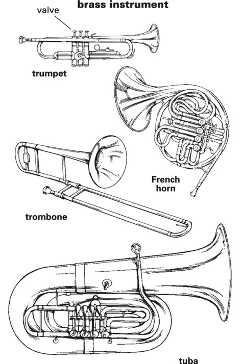 coloring pages instruments of the orchestra november 2009 tatterhoodtour s blog