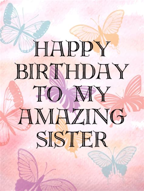 happy birthday images for my sister sister birthday card gangcraft net