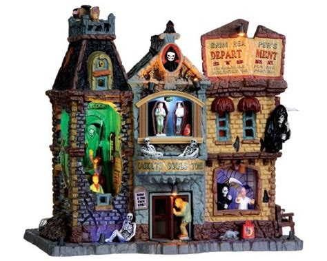 39 best images about lemax spooky town on pinterest