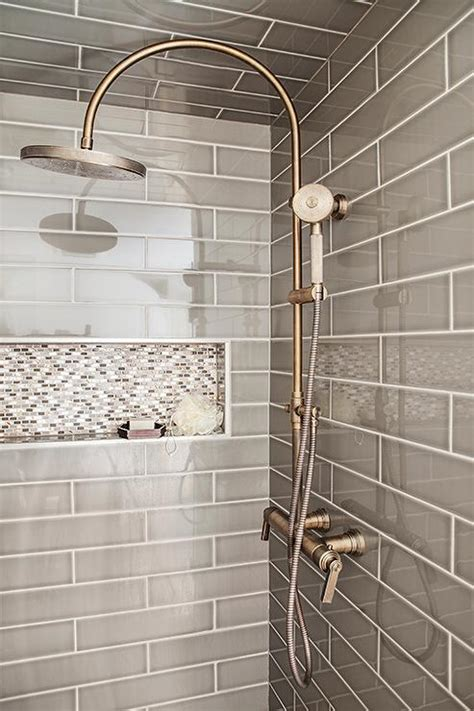 bathroom tub tile designs walk in shower with sloped ceiling and gray tiles