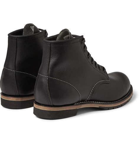 Handmade Custom - handmade custom leather boot lace up boot biker