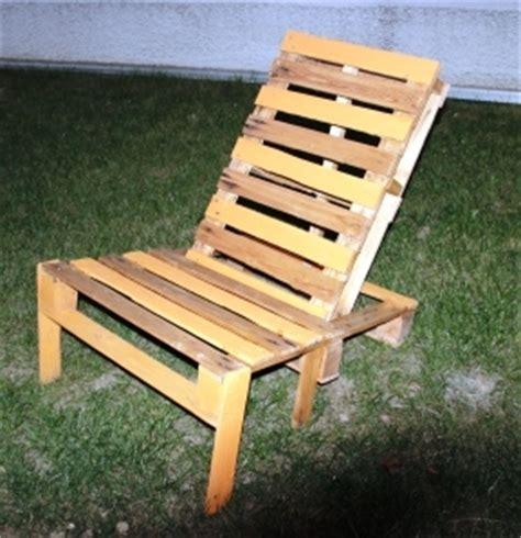 chaise longue palette chaise longue en palette id 233 es brico bricolage diy