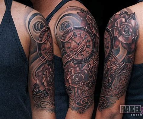 half sleeve rose tattoos for men half sleeve designs zoeken sleeve