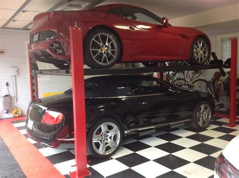 Car Lifts For Home Garage by Car Lifts For Home Garages By Garage Designs Of St Louis