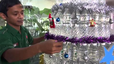 membuat pohon natal dari koran kreasi pohon natal dari limbah koran hingga pohon plastik