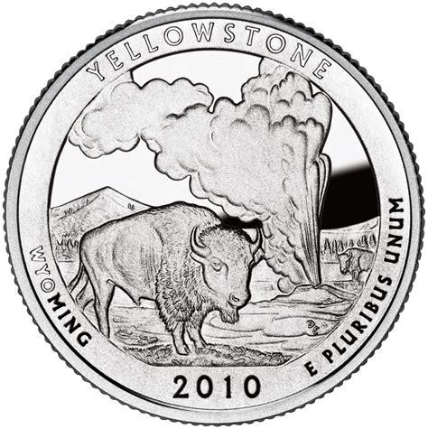 yellowstone national park quarter sell silver quarter
