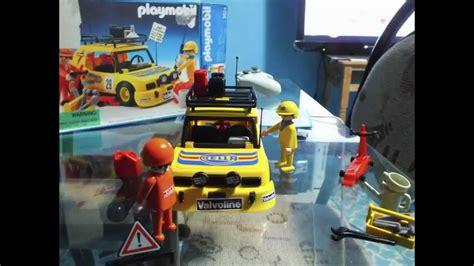Rally Auto Playmobil by Playmobil 3524 Yellow Rally Car Youtube
