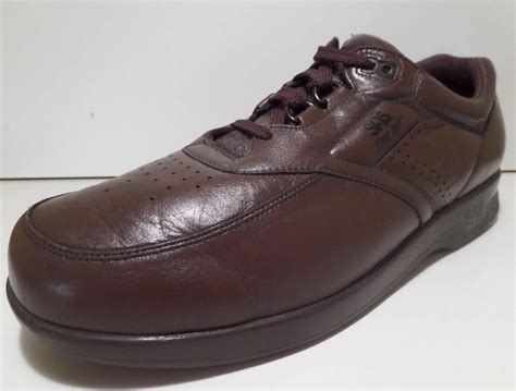 shoe time sas comfort shoes bout time out brown 13 m ebay