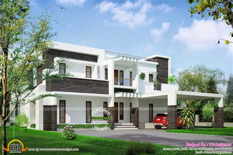 400 yard home design contemporary house design in 400 square yards kerala