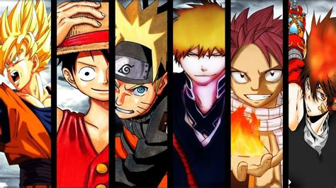 Anime Characters by Animeworld Images Most Commonly Known Anime Characters Hd