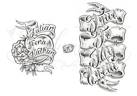 tattoo banner banner images designs