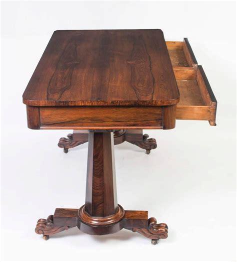 antique sofa tables for sale antique william iv rosewood writing sofa table circa 1830