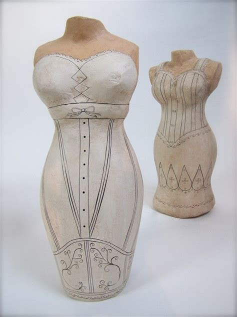 How To Make A Paper Mache Mannequin - paper mache dress form fashion mannequins